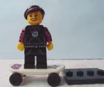 Lego Minifigures Series 6 (Skateuse Gothic)