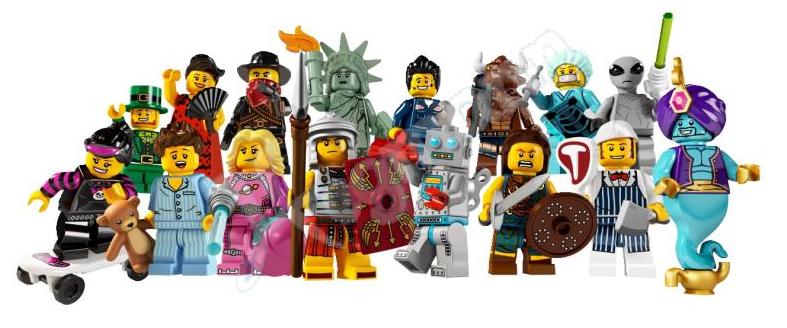 [LEGO] : MINIFIGS COLLECTION Lego-minifigures-series-6