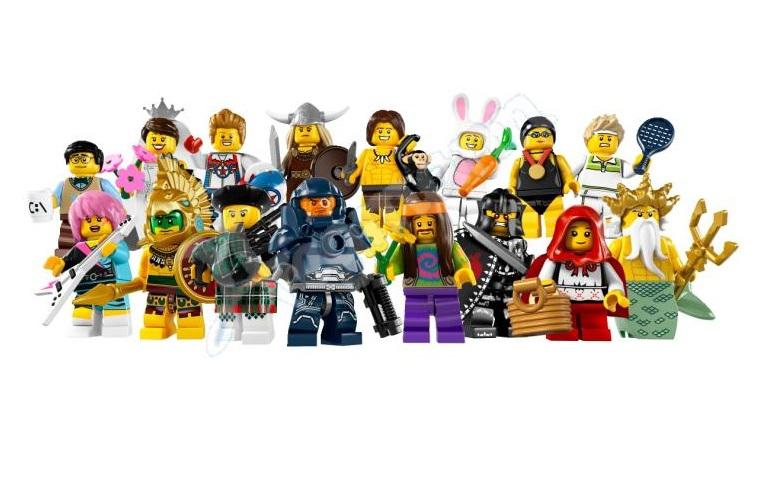 [LEGO] : MINIFIGS COLLECTION Lego-minifigures-series-71