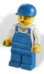 Lego 4432 Garbage Truck Minifig - Set 2012