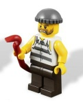 Lego 4437 Police Pursuit Minifig - Set 2012