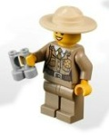 Lego 4440 Forest Police Station Minifig 1 - Set 2012