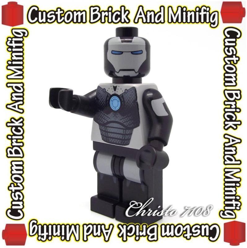 Lego-War-Machine-Iron-Man-Custom-Minifig-Christo