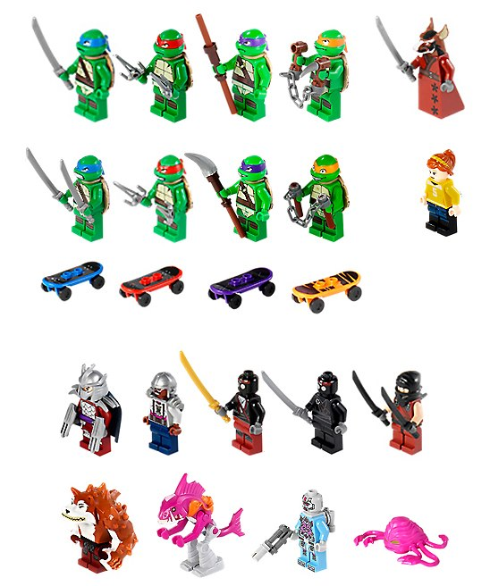 Tortues ninja fab joue aux lego - Image tortue ninja ...