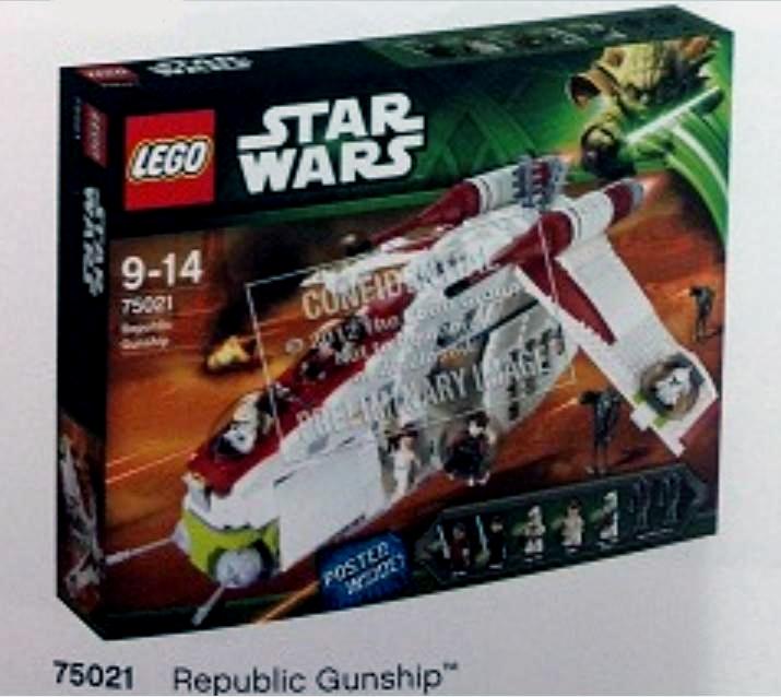 Lego Star Wars Republic Gunship 75021 Lego-star-wars-75021-republic