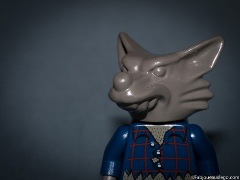 Lego-Minifig-Loup-Garou-Werewolf-Studio