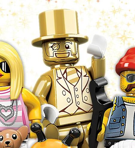 Lego-Minifigures-Series-10-Golden-Minifig-Exclusive-5000