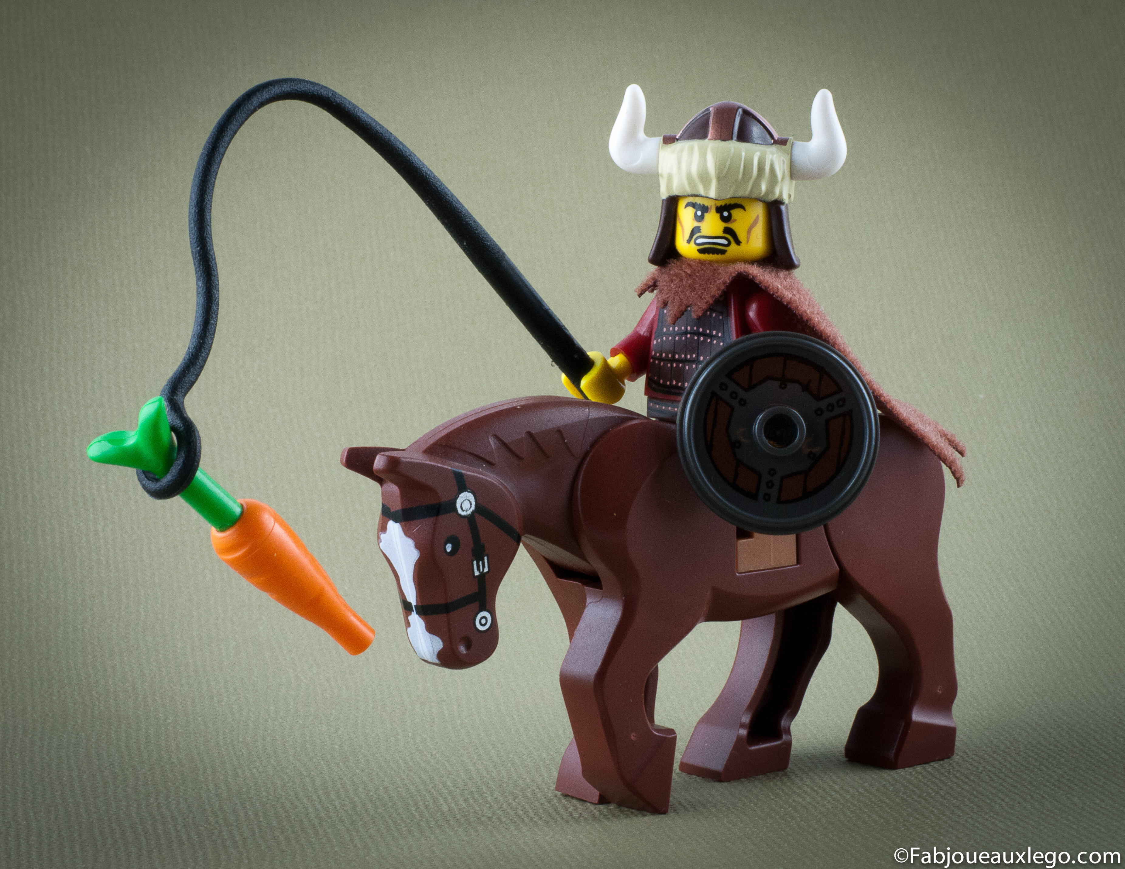 lego minifigure serie 12 attila hun